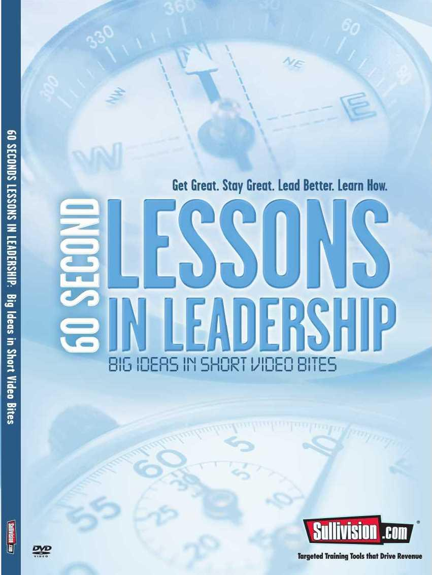 60 Second Lessons in Leadership DVD